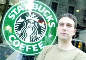 "Daniel Gross, IWW Starbucks Union Co-Founder, Faced Termination Pending ""Investigation"" in 2006. Credit: IWW."