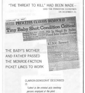 The film used a baby's death to associate unions with violence.