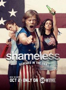Promotional poster for Showtime's Shameless.